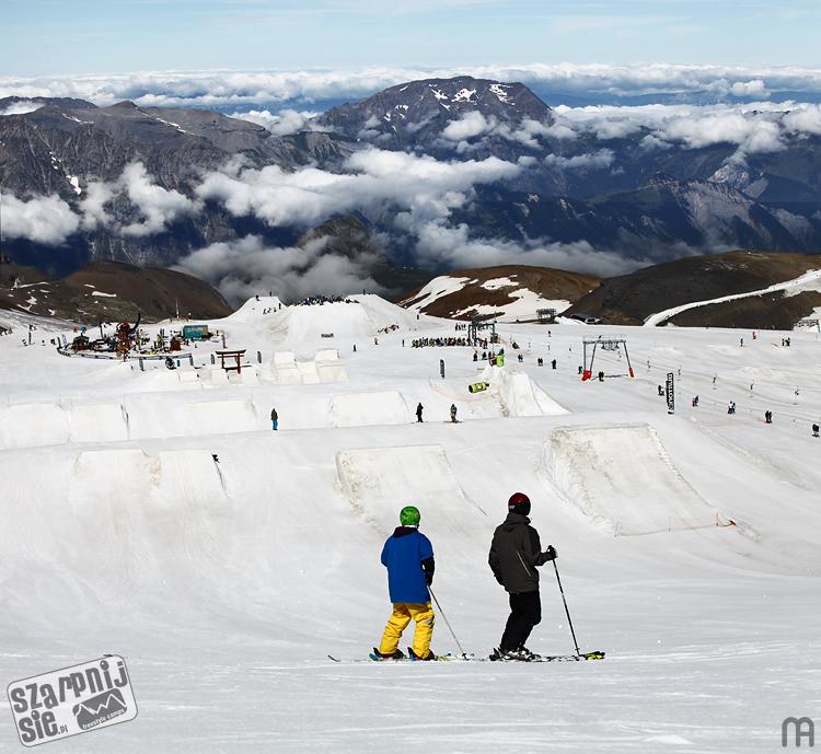les2alpes, l2a, les deux alpes, szkolenie snowboardowe, snowpark, summercamp