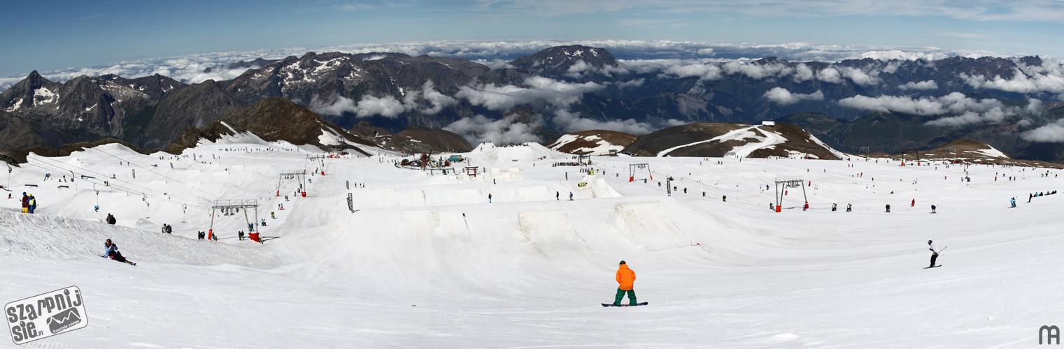 les2alpes, l2a, les deux alpes, szkolenie snowboardowe, snowpark, freeski summercamp